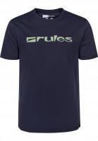 Rules-T-Shirts-Basic-deepnavy-Vorderansicht