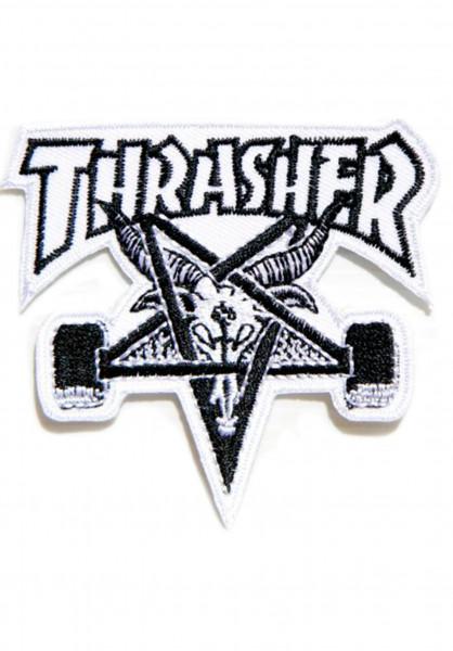 Thrasher Verschiedenes Skate-Goat Patch no color Vorderansicht