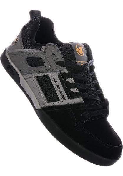 DVS Alle Schuhe Comanche 2.0+ black-grey vorderansicht 0604619