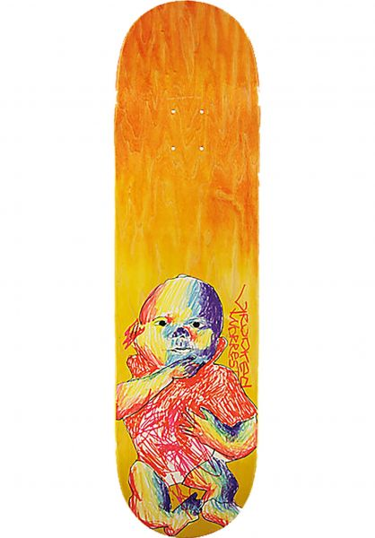 Krooked Skateboard Decks Worrest Baby multicolor vorderansicht 0261581