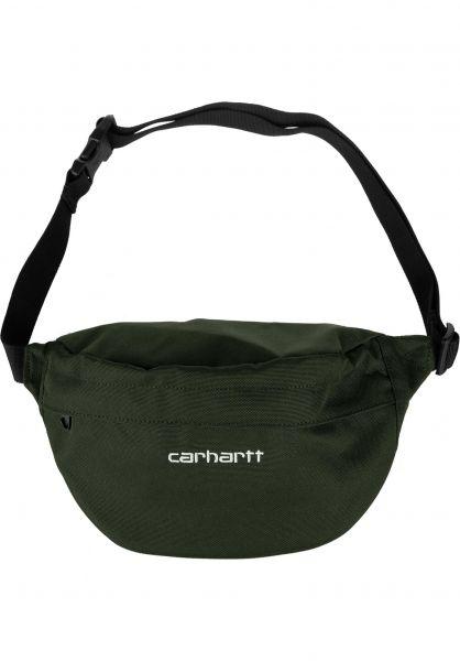 Carhartt WIP Hip-Bags Payton Hip Bag cypress-white vorderansicht 0169077