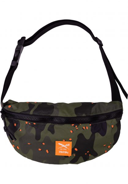 iriedaily Hip-Bags Rastron camou-olive vorderansicht 0169118