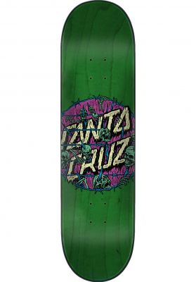 Santa-Cruz Skateboard Decks Abyss Dot Hard Rock Maple