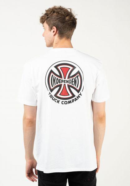 Independent T-Shirts Big Truck Co. white vorderansicht 0323211