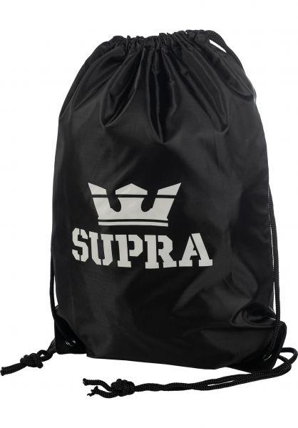 Supra Taschen Gym Bag black vorderansicht 0891682