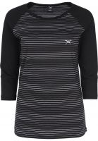 iriedaily Longsleeves Raglan Stripe stripe-black Vorderansicht
