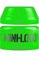 Mini-Logo-Lenkgummis-84A-Green-Soft-Pack-green-Vorderansicht