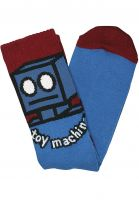 Toy-Machine Socken Robot blue Vorderansicht