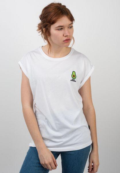 Ezekiel T-Shirts Avocado white vorderansicht 0398625
