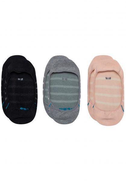 Stance Socken Liner 3er Pack multi vorderansicht 0631956