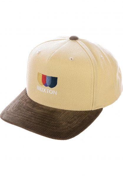 Brixton Caps Alton EMB C ivory-toffee vorderansicht 0566916
