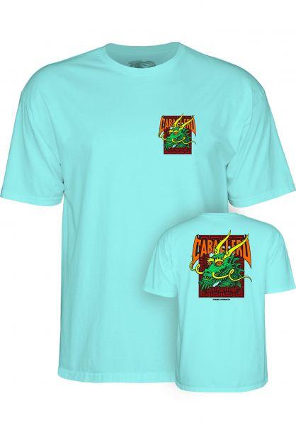 Powell-Peralta T-Shirts Caballero Street Dragon II celadon vorderansicht 0398315