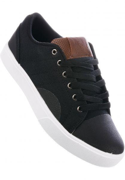 Osiris Alle Schuhe Turin black-tan Vorderansicht