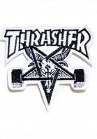Thrasher-Verschiedenes-Skate-Goat-Patch-no-color-Vorderansicht