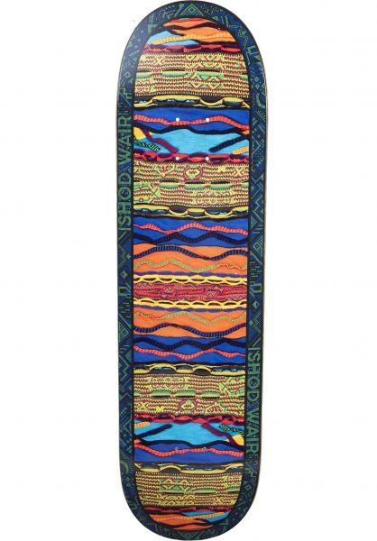 Real Skateboard Decks Wair Comfy Twin Tail Slick brown-orange vorderansicht 0267621