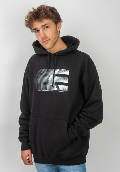 etnies Hoodies After Burn black vorderansicht 0445523