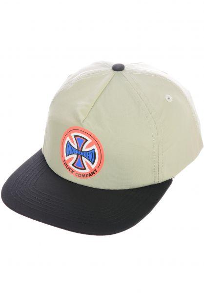 Independent Caps O.G.T.C. grey vorderansicht 0566356