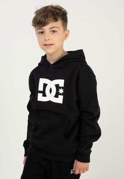 DC Shoes Hoodies Star Kids black vorderansicht 0452709