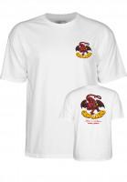 Powell-Peralta-T-Shirts-Cab-Dragon-II-white-Vorderansicht