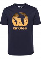 Rules T-Shirts Doves deepnavy Vorderansicht