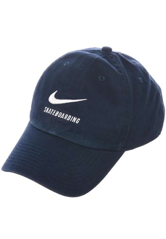 H86 Dad Hat Cap Nike SB Caps in obsidian-black-white for Men  1c36d672368