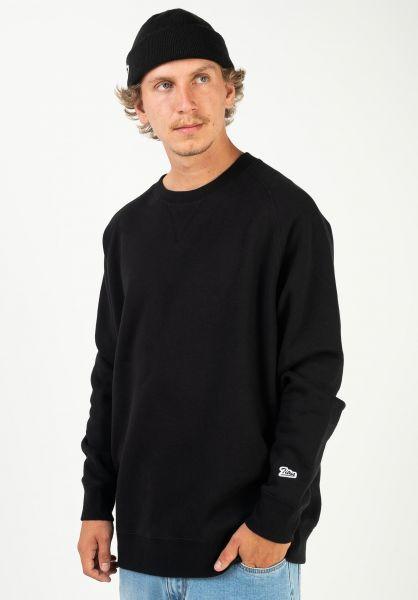 TITUS Sweatshirts und Pullover Script Crewneck black vorderansicht 0422821