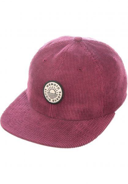 Wemoto Caps Life burgundy vorderansicht 0566547