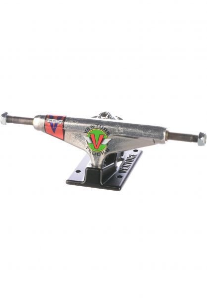 Venture Achsen 5.0 Low V-Hollow OG Wings silverpolished-black vorderansicht 0122932