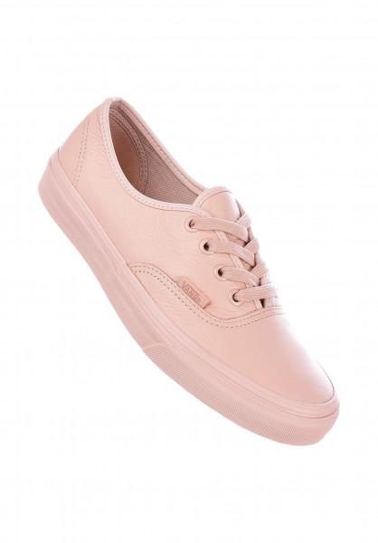 Vans Alle Schuhe Authentic Classic mono-sepiarose Vorderansicht