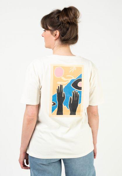 TITUS T-Shirts Hands up offwhite vorderansicht 0321948