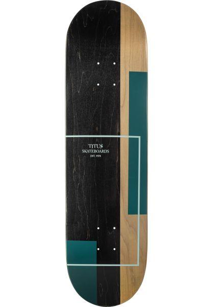 TITUS Skateboard Decks Split mint-petrol vorderansicht 0261388