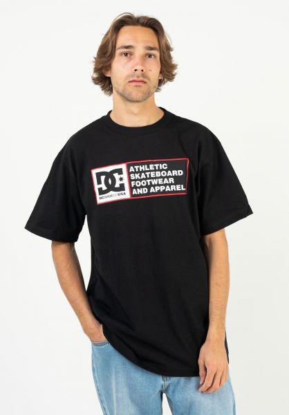 DC Shoes T-Shirts Destiny Zone black vorderansicht 0323299