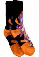 Toy-Machine-Socken-Barf-Sect-orange-Vorderansicht