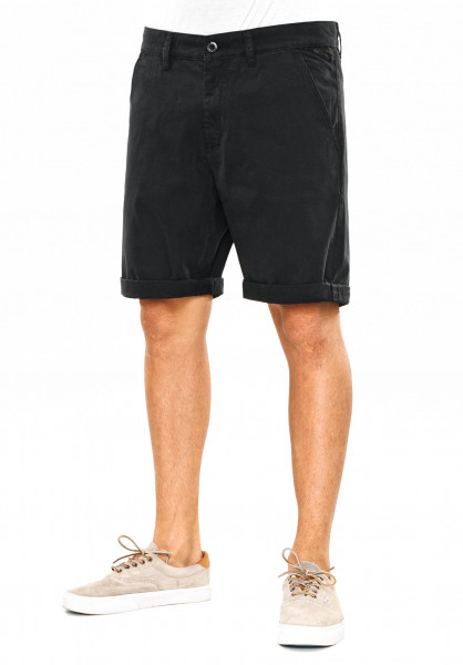 Reell Chinoshorts Flex Grip Chino black Vorderansicht