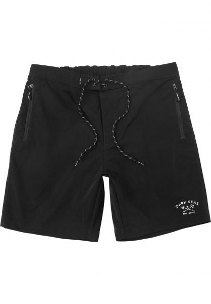 Dark Seas Beachwear Tack black vorderansicht 0205353