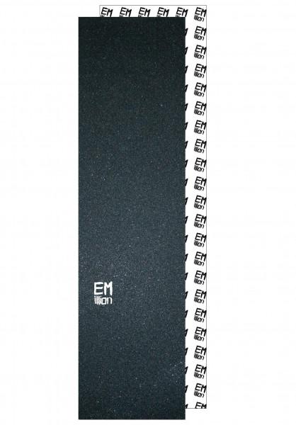 EMillion Griptape Small-Logo black Vorderansicht