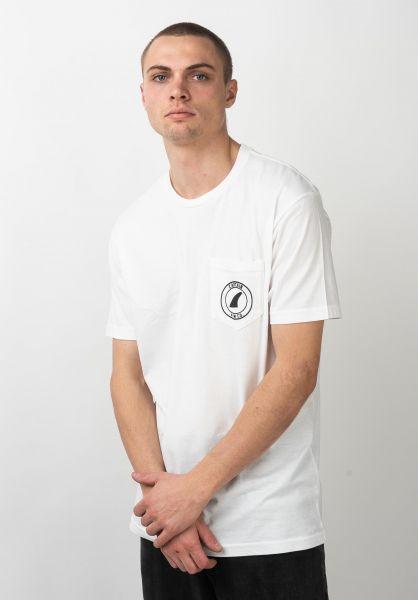 Captain Fin T-Shirts Crest II Pocket white vorderansicht 0321335