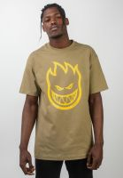 spitfire-t-shirts-bighead-safarigreen-yellow-vorderansicht-0036583