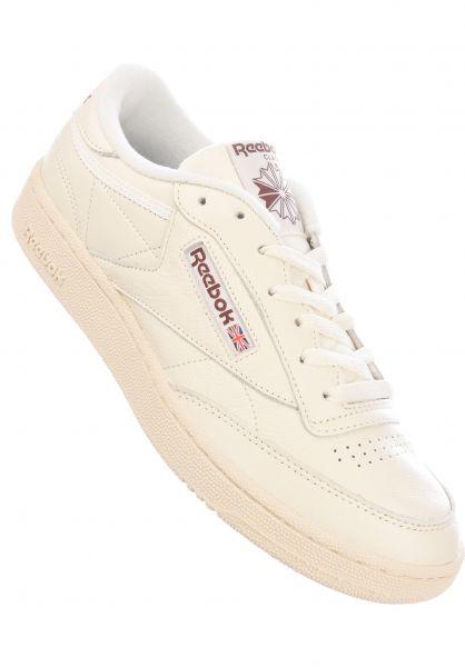 Reebok Alle Schuhe Club C MU chalk-paperwhite-black vorderansicht 0604865