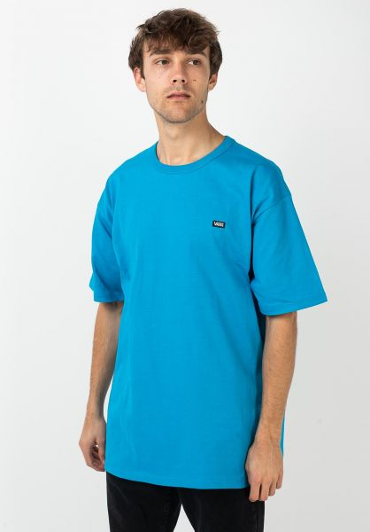 Vans T-Shirts Off the Wall Classic blue-jewel vorderansicht 0321446