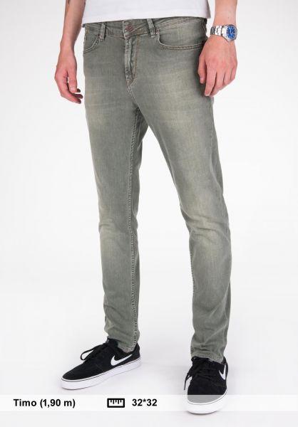Reell Jeans Spider washedolive Vorderansicht