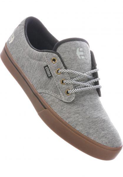 etnies Alle Schuhe Jameson Preserve grey-black-gum vorderansicht 0604759