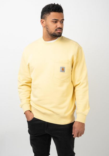 Carhartt WIP Sweatshirts und Pullover Pocket fresco vorderansicht 0422851