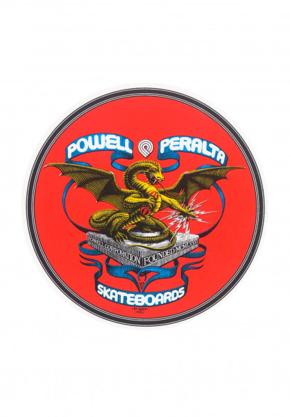 "Powell-Peralta Verschiedenes Banner-Dragon-4"" no color Vorderansicht"