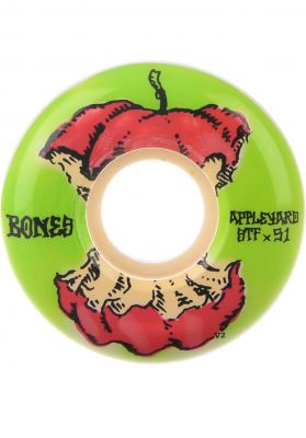 Bones Wheels STF Appleyard Apple 83B V2
