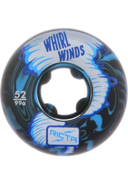 Ricta Rollen Whirlwinds Swirl 99a Ricta blue-black vorderansicht 0134300