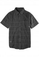 Emerica Hemden kurzarm Guillen black-black Vorderansicht