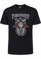 Thrasher-T-Shirts-Goddess-black-Vorderansicht