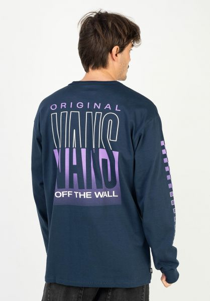 Vans Longsleeves Off The Wall Classic Graphic dressblues vorderansicht 0383678