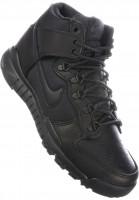 Nike-SB-Alle-Schuhe-Dunk-High-Boot-black-black-anthracite-Vorderansicht